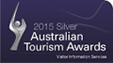 2015 silver australian tourism awards